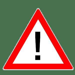 Verkehrszeichen 101: Gefahrstelle