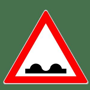 Verkehrszeichen 112: Bodenwellen