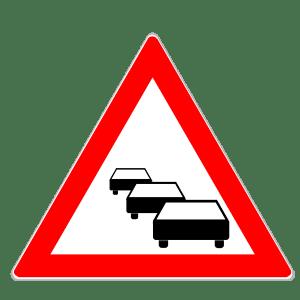Verkehrszeichen 124: Stau