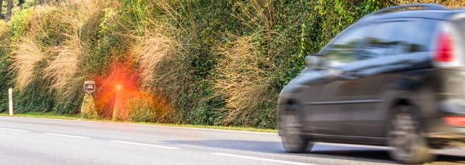 2-Mal geblitzt: In der Probezeit ist die Geschwindigkeit entscheidend.