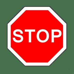 Zeichen 206: Halt und Vorfahrt gewähren
