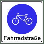 VZ 244.1 - Fahrradstraße