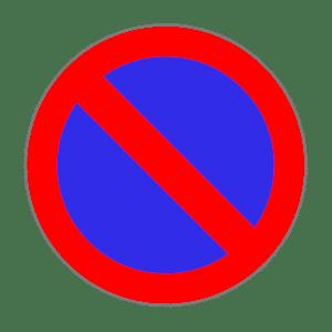 Zeichen 286: Eingeschränktes Halteverbot