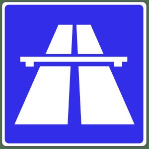Verkehrszeichen 330-1: Autobahn