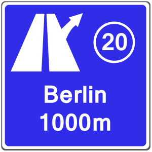 Verkehrszeichen 448: Ausfahrt