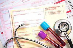 Die Arbeitsunfähigkeitsbescheinigung wird vom Arzt ausgestellt, wenn Sie krank sind.