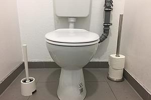 Arbeitsunfall auf der Toilette? Dazu kann es in der Regel nicht kommen.
