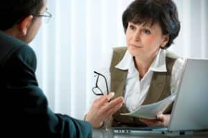 Zwischen Arzt und Patient besteht ein Vertrauensverhältnis