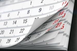 Das Aufbauseminar für Fahranfänger erstreckt sich in der Regel über einen Zeitraum von zwei Wochen.