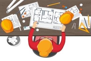 Die Baugenehmigung einholen: Das ist meist zwingend nötig.