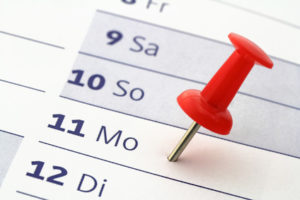 Für die Berechnung zum Beginn vom Mutterschutz ist der berechnete Geburtstermin entscheidend.