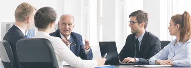 Als staatlich geprüfter Betriebswirt stehen Sie der Geschäftsführung in Unternehmen beratend zur Seite.