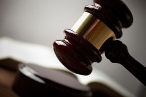 Das Bundesverfassungsgericht wacht über die Einhaltung vom Staatsrecht.