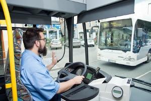 Wo darf ein Bus parken?