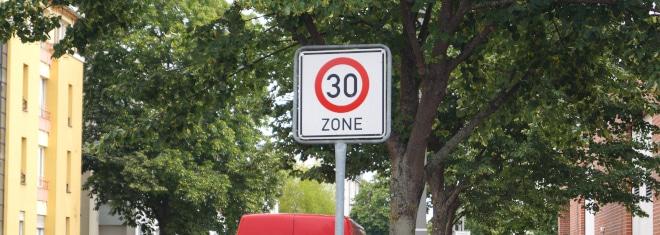 Bußgeldkatalog Tempo-30-Zone: Welche Bußgelder sind hier möglich?