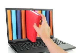 Das Copyright für ein Buch gilt auch im Internet für digitale Kopien.