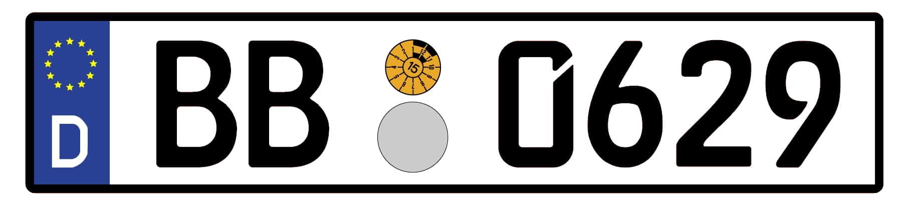 EU-Kennzeichen