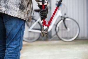 Informationen zum Fahrrad: Ist die Rahmennummer bei der Polizei registriert, lässt sich dieses dem Halter zuordnen.