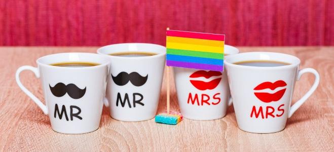 Viele gleichgeschlechtliche Paare setzen sich für die Ehe für alle ein.