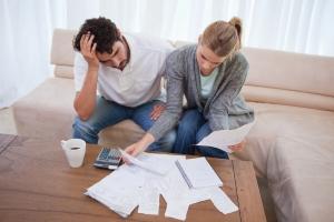 Gütergemeinschaft: Für Schulden haften beide Ehegatten.