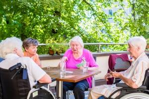 Bei Pflegegrad 3 kann der Entlastungsbetrag für die Teilnahme an Betreuungsgruppen verwendet werden.