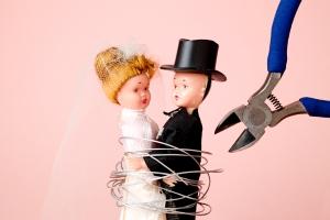 Bei der Scheidung wird das Berliner Testament unwirksam.