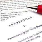Sollten Unternehmer die Scheidung ohne Ehevertrag durchführen? Nachträglich einen Vertrag aufzusetzen lohnt sich.