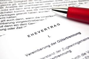 Sollten Unternehmer die Scheidung ohne Ehevertrag durchführen? Nachträglich einen Vertrag aufzusetzen kann sich lohnen.
