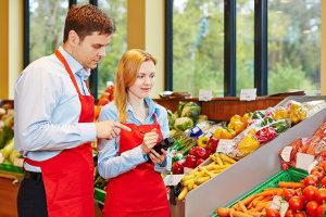 Gewerbefläche mieten: Ein Supermarkt muss die Lage strategisch wählen.
