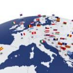 Internationales Wirtschaftsrecht regelt beispielsweise den Handel innerhalb Europas.