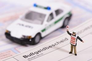 Fehler bei der Ladungssicherung können zu einem Bußgeldbescheid führen.