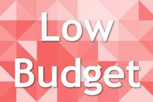 Erfolgreich können Sie auch mit Low Budget Marketing sein.