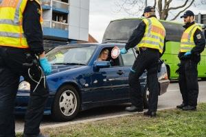 Bei einer Polizeikontrolle sollten Sie Ruhe bewahren.