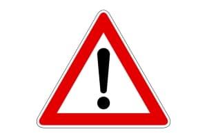 Hinweise wie eine Produktwarnung dienen dem Schutz der Verbraucher.