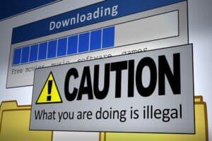 Raubkopien und illegale Downloads sind laut Urheberrecht verboten und auch beim Filesharing kann es zu einer unerlaubten Handlung kommen