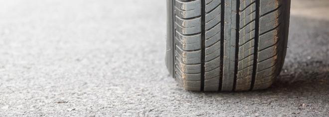 Reifen tragen einen großen Teil zur Verkehrssicherheit bei.