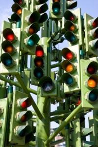 Rotblitzer werden zumeist zur stationären Verkehrsüberwachung verwendet.