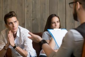 Die Scheidung bzw. der Ablauf des Verfahrens verzögert sich, wenn diese streitig ist.