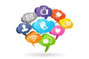 Soziale Medien verändern das Marketing.