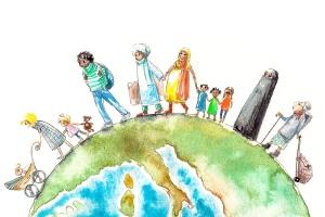 Laut Strafgesetzbuch richtet sich Volksverhetzung z. B. gegen nationale, religiöse oder rassische Gruppen.
