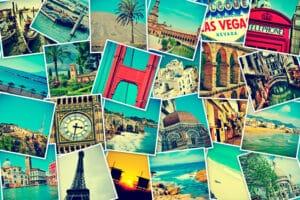 Touristen brauchen ein Visum, um in visumpflichtige Länder zu reisen.