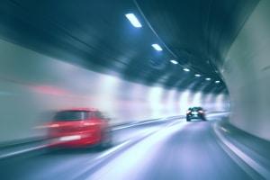 Die Verkehrsregeln sollen im Tunnel für Sicherheit sorgen.