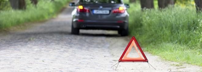 Auch nach einem Unfall können Bußgelder drohen, z. B. wenn Sie die Unfallstelle nicht absichern.