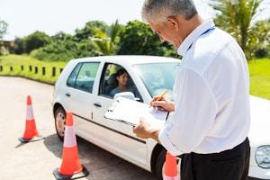 Bei der verkehrspsychologischen Beratung kann auch eine Fahrprobe erfolgen.