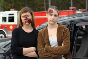 Bei einem Unfall greift im Versicherungsrecht die Unfallversicherung