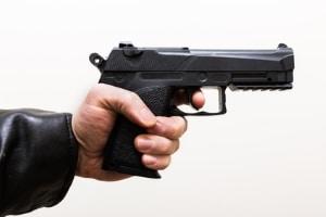 Die Waffen, die Mustermann verkaufte, konnten mit Bandenkriminalität und Terrorismus in Verbindung gebracht werden.