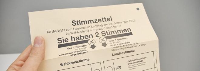 Wahlzettel fotografieren: Für Briefwahl und Wahllokal gelten unterschiedliche Vorschriften.
