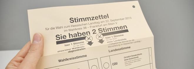 Wie können Sie Ihren Wahlzettel ungültig machen?